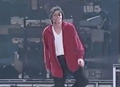 Michael dancing :)