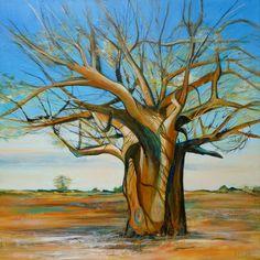 Ancient Baobab Tree Botswana - Linda Bell  AFCA