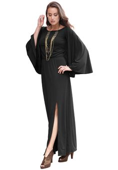 Plus Size Travel Maxi Dress