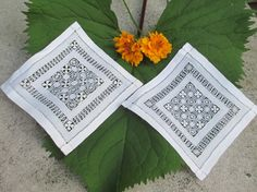 Check out this item in my Etsy shop https://www.etsy.com/listing/491693312/2-small-saba-spanish-lace-doilies-or