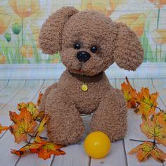 Купить Вязаный пес Филя в интернет магазине на Ярмарке Мастеров