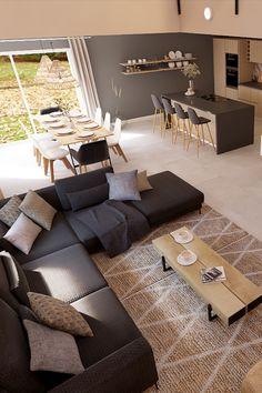 Home Interior Design, House Design, Room Decor, House Interior, Home Living Room, Living Room Decor Apartment, Home, Apartment Living Room, Home Decor Styles