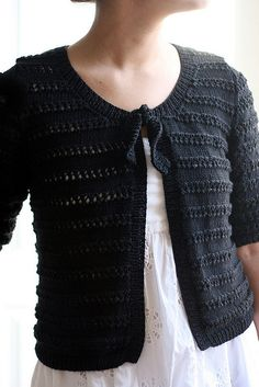 Now in the Ravelry Rowan online pattern store: Sadie Cardigan by Sarah Hatton