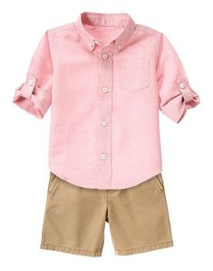 Gymboree Toddler Boy Spring Stroll Outfit Modelos Infantis 25335ac510e