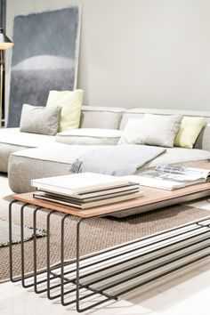 great coffee table from The Stockholm Furniture Fair