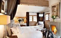 Tivoli Lodge - Luxury ski chalet Davos, Switzerland, from Firefly Collection. www.firefly-colle...