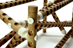 Modular 3D printed furniture is inspired by molecular links ...