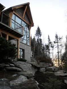 Ski Lodge in Stowe Vermont