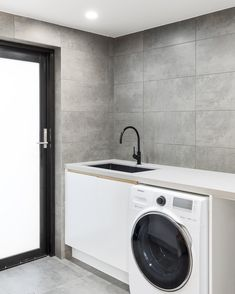 Laundry Design, Kitchen Styling, Washing Machine, New Homes, Home Appliances, Contemporary, Sydney, House Appliances, Domestic Appliances