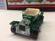 VTG Original 1968 Hot Wheels Redline HOT HEAP Metallic Green BEAUTIFUL USA #HotWheels #Ford