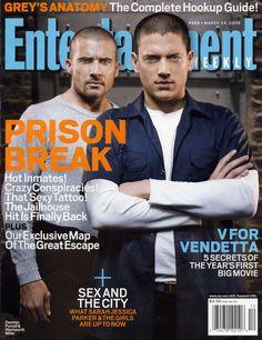 Entertainment  Weekly ~ Prison Break ~ Yummy!