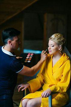 Wedding makeup day  and makeup!  Свадебный макияж! Ph: Миша Балыгин  Mua: Alexander Karnizov  Studio: cantoni makeup stations