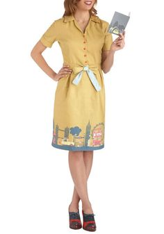 Can someone buy me this? Seriously, please?  This dress is amazing!!!  Been There, London That Dress, #ModCloth