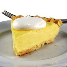 One Perfect Bite: Lemon Sour Cream Tart Lemon Desserts, Lemon Recipes, Pie Recipes, Just Desserts, Delicious Desserts, Dessert Recipes, Cooking Recipes, Yummy Food, Lunch Recipes