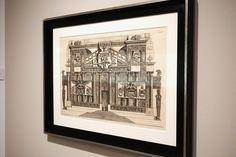 """Parere sull´architettura"" (1.765) Giovanni Battista Piranesi. #Conexiones10 Exposición ""El espacio alrededor"" de Elena Alonso. Museo ABC Madrid #arte #art #artecontemporáneo #contemporaryart #spanishartists #Arterecord 2015 https://twitter.com/arterecord"