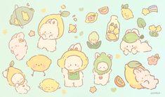 Cute Pastel Wallpaper, Soft Wallpaper, Kawaii Wallpaper, Kawaii Stickers, Cute Stickers, Kawaii Drawings, Cute Drawings, Cute Images, Cute Pictures