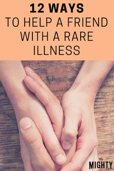 The Erdheim-Chester Disease Global Alliance asks their community to share ways a friend can help someone with a rare disease. Chronic Illness, Chronic Pain, Fibromyalgia, Stress Relief Exercises, Health Anxiety, Ehlers Danlos Syndrome, Rare Disease, Inspirational Celebrities, Invisible Illness