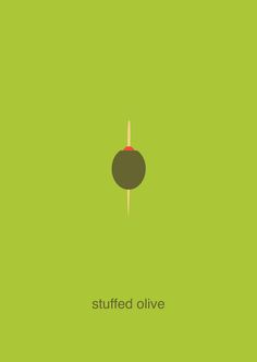 stuffed olive - simplifood