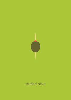 stuffed olive - simplifood
