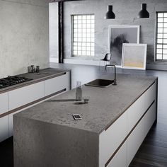 Formidable Urban Loft Kitchen Maintains Historic Indentity - Home Design