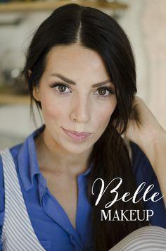 Belle makeup tutorial.