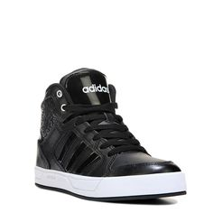 ae9cad72097ef Adidas Women s Neo Raleigh High Top Sneakers (Black White) - 10.0 M Adidas