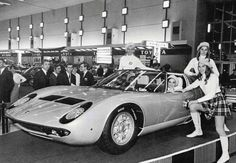 The 1967 Lamborghini Miura is often hailed as the world's first supercar. Named after Don Eduardo Miura, a legendary breeder of fighting bulls