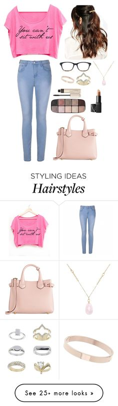 """""""I don't wanna go to school, I just wanna break the rules"""" by adoreann on Polyvore featuring Ally Fashion, Burberry, Topshop, White House Black Market, NARS Cosmetics, Chico's, Suzywan DELUXE and By Terry"""