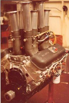 Reynolds aluminum 427 McClaren Can am engine