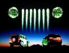 Fireworks Jeep style