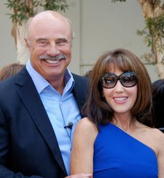 Dr. Phil McGraw and his wife Robin McGraw