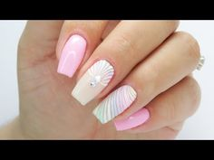 Pastel colorful nails / Colours by Molly Colorful Nails, Pastel Nails, Nude Nails, Manicure Colors, Nail Colors, Colours, Diamond 3d, Pink Holographic Nails, Natural Looking Nails