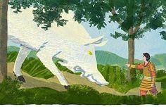 #yamatotakeru #wildboar #god #japan #forest #woods #mountains #nature #wild #animal #illustrator #illustration #イラストレーション #イラスト