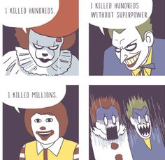 Those are rookie numbers << RONALD IS THE LOVE CHILD OF PENNYWISE AND JOKER PASS IT ON