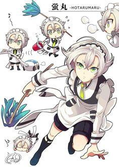 埋め込み画像 Touken Ranbu, Character Concept, Character Design, Mutsunokami Yoshiyuki, Danganronpa Characters, Anime Life, Cute Characters, Cute Boys, Anime Guys