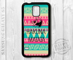 Hakuna Matata Simba Samsung Galaxy S5 case Samsung by HappyPhone, $14.99