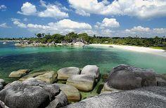 Tebing Tinggi Island, Riau Indonesia
