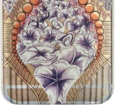 iPhone 6 clear printed case Flower Drop by EmmaHarrietPrint