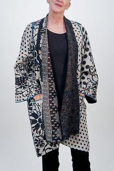 Kantha A-Line Jacket