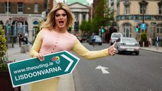 Panti, Ireland's most famous drag queen hosts The Outing. She will be putting on her own performance during the weekend! Lgbt, Ireland, Events, Queen, Irish