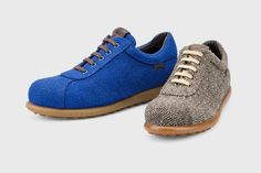Camper + Kvadrat. Camper y Kvadrat se han unido para reinterpretar al Pelotas. Nuestro zapato icono desde 1995, ha sido revisitado y adaptado para el invierno! Cubierto del tejido Hallingdal 65 de la marca textil escandinava, este zapato no teme las temperaturas bajas.