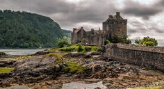 Eilean Donan Castle - Been absent some time and not been out with the camera much due to family issues but I will put an image up as and when I can.  I miss speaking to you all. Image taken a few years back. Eilean Donan castle was founded in the thirteenth century, and became a stronghold of the Clan Mackenzie and their allies the Clan Macrae. In the early eighteenth century the Mackenzie's involvement in the Jacobite rebellions led in 1719 to the castle's destruction by government ships…