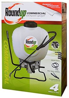Roundup 190426 Commercial Backpack Sprayer for Professionals Applying Weed Killer and Fertilizer 4 gallon *** You can get additional details at the image link.
