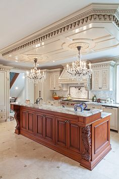 We are designers and manufacturers of high-end custom kitchens and interior woodwork Fancy Kitchens, Custom Kitchens, Luxury Kitchens, Kitchen Dinning, Home Decor Kitchen, Kitchen Interior, Rustic Kitchen Design, Luxury Kitchen Design, Wooden Kitchen Cabinets