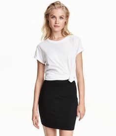 H&M Jersey Skirt Found on my new favorite app Dote Shopping #DoteApp #Shopping
