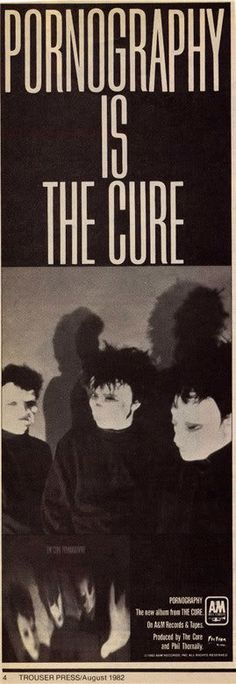 The Cure - 1982 Newspaper clipping