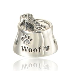 arrival cubic zirconia dog bone 925 sterling silver charms beads for bracelet diy for men & women fine Pandora Bracelet Charms, Silver Charm Bracelet, Pandora Jewelry, Silver Charms, Sterling Silver Jewelry, 925 Silver, Charm Bracelets, Silver Beads, Diy For Men
