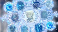Zane Julian the master of Ice and the Titanium Ninja