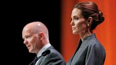 Angelina Jolie und William Hague
