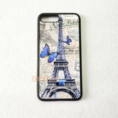 Paris eiffel tower soft silicone edge hight quality mobile phone cases for iphone  5 se 7 case cover ee8d68a3389